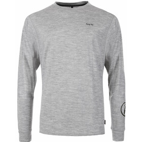 Pally'Hi Hitch Hiker Maglietta maniche lunghe Uomo, heather grey